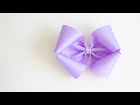 Fluffy Southern Boutique Bow using 2.25 inch Grosgrain