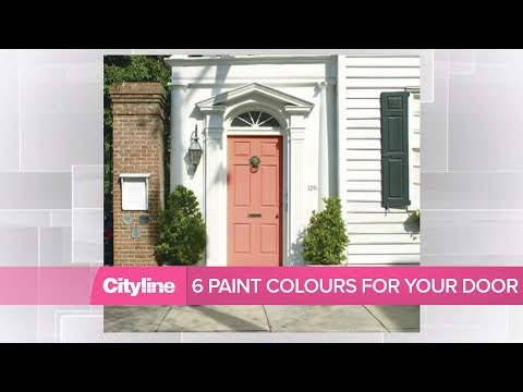 6 paint colour ideas to update your front door
