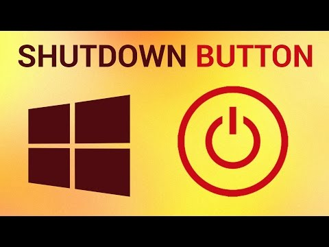 How to Add a Shutdown Button in Start Screen in Windows 8