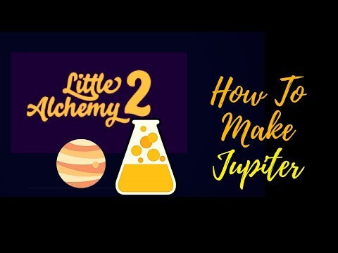 Little Alchemy 2-How To Make Jupiter Cheats & Hints