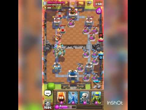 Clash royal troll with wert and ohlh gamers