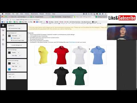 Setting Up InkFrog Open for Third Party eBay Listing