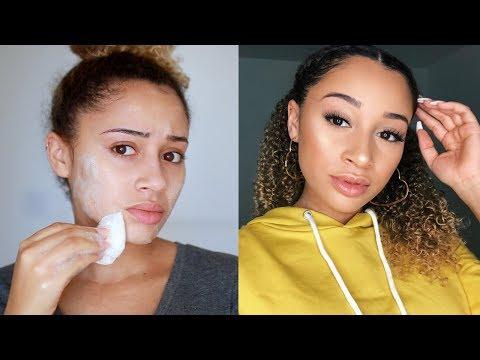 GRWM: Braided Half Up-do + Everyday Makeup