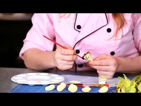 How to Paint Orchid Petals | Sugar Flowers