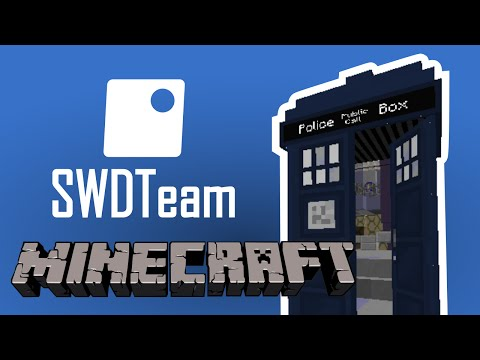 Dalek Mod - Bigger On The Inside Tardis In Minecraft! (See the inside from the outside!)