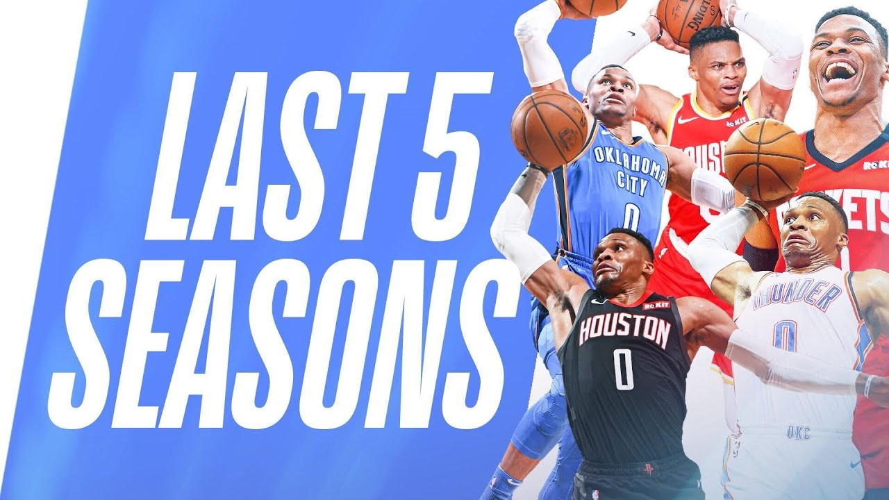 Westbrook's BEST Fast Break Dunks   Last 5 Seasons
