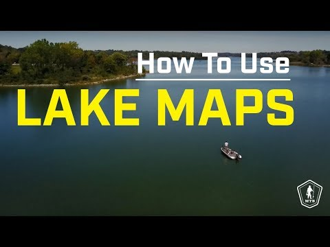 Breaking Down Lake Maps And Using Technology To Find Fish