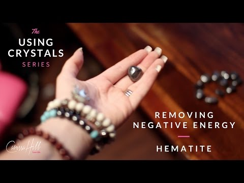 How To Get Rid of Negative Energy Using Crystals. 💎