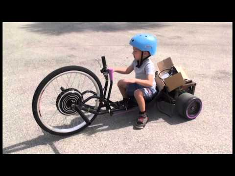 Motorized Green Machine And Tricycle