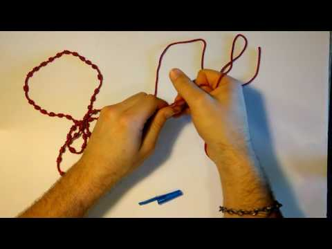 Twine Rosary Making