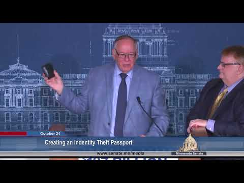 Creating an Identity Theft Passport