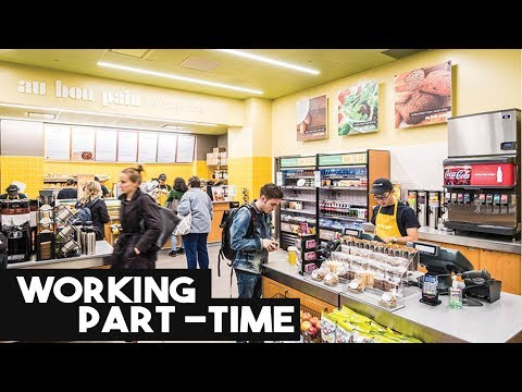Working PART-TIME jobs | My Experience