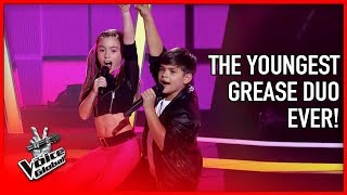 This GREASE duo made the coaches DANCE in The Voice | STORIES #13