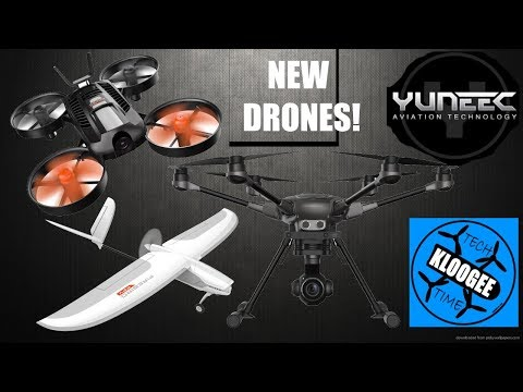 Yuneec announces FPV Racer, new Typhoon H Plus, and Firebird fixed wing FPV