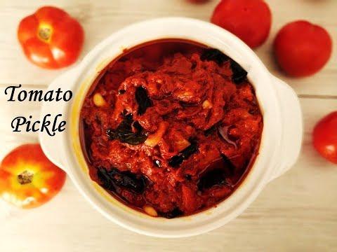 Tomato pickle recipe | Tomato nilava pachadi andhra style