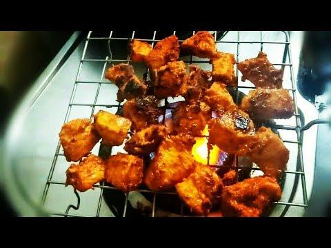 बिना BBQ,बिना ओवन बनाएं मार्केट जैसा चिकन टिक्का/ Chicken Tikka without oven