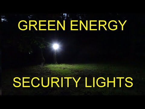 New! Green Energy Security Lights Review