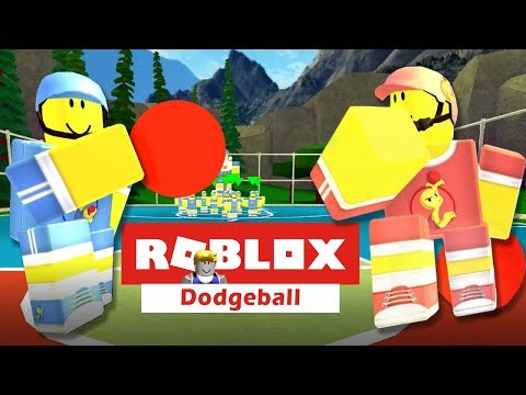 Who's Ready for Some Dodgeball!  Twin Toys Plays Roblox