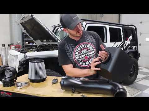 Jeep JK Wrangler Cold Air Intake Performance Superchips Jammer 484141-D