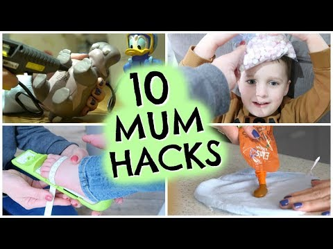 10 NEW MOM HACKS YOU NEED TO KNOW  |  10 MUM HACKS  |  EMILY NORRIS