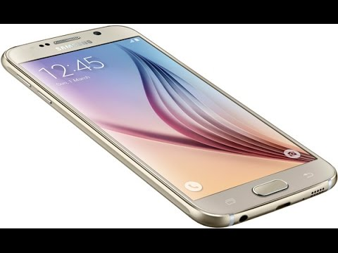 Samsung Galaxy S6 weather widget