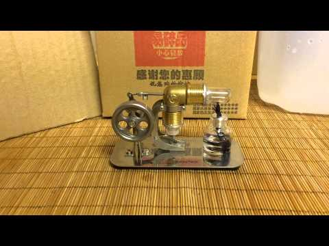 Sunnytech Mini Hot Air Stirling Engine Motor Review