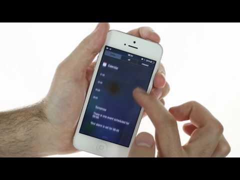 Apple iOS 7 beta running on iPhone 5