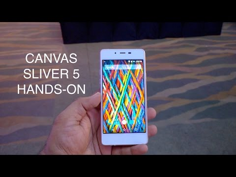 Canvas Sliver 5 Hands on (Full Review Coming Soon)