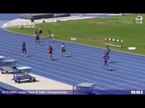 Gunn Fires Again to Claim NSW Men's Under 20 400m Title | NBN News