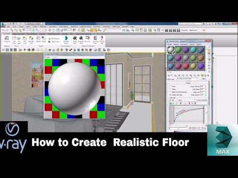 How to create  realistic floor