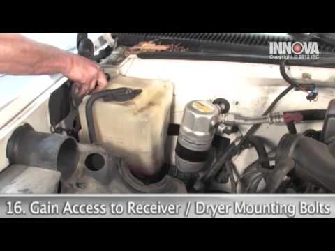 How to change AC Compressor, Receiver Dryer and Orifice Tube - 1997 GMC Sierra