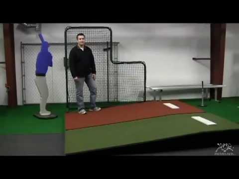 ProMounds Collegiate Portable Pitcher's Mound