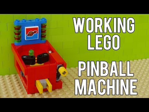 How To Build A Working Lego Pinball Machine