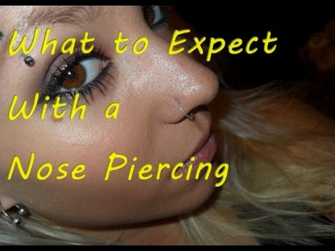 What To Expect With A Nose Piercing.