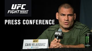 UFC Phoenix: Post-fight Press Conference