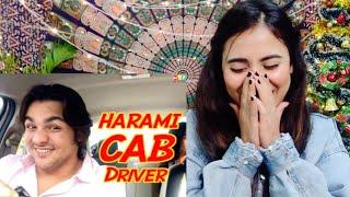 Harami CAB Driver | Ashish Chanchlani | Akash Dodeja | Reaction By Illumi Girl