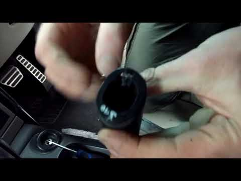 How to change / upgrade the handbrake sleave on a Range Rover L322