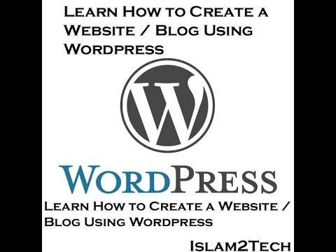How to Create a Website / Blog Using Wordpress - Full Tutorial in Telugu