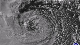 2018 Bomb Cyclone Blizzard - Center of the Storm Satellite Imagery January 4, 2018