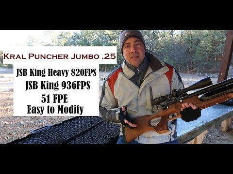 Kral Puncher Jumbo .25 - Review & Final Modification to 51FPE