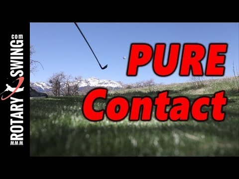 Hit Your Irons Pure - How to Take a Divot in Front of the Golf Ball