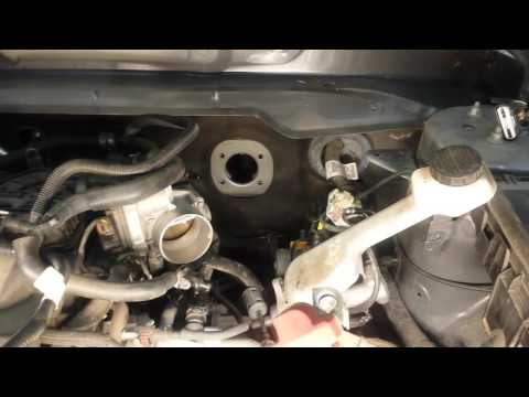 2012 Lincoln MKX vacuum brake booster replacement
