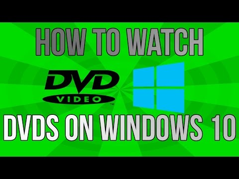 How To Watch DVDs on Windows 10 for FREE!! Quick & Easy Tutorial