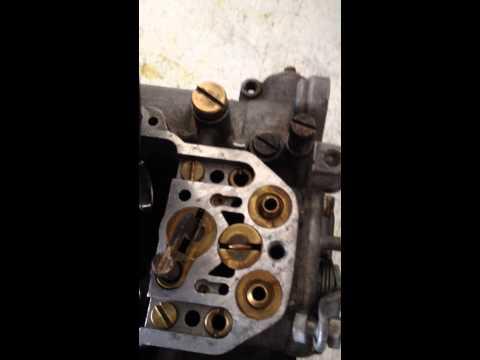 Weber DCOE Tipo 18 problem!