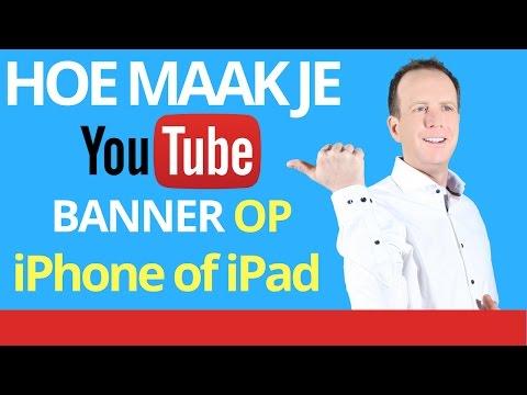 👉★Banner maken op telefoon - Banner maken op iPad - YouTube banner maken met ipad