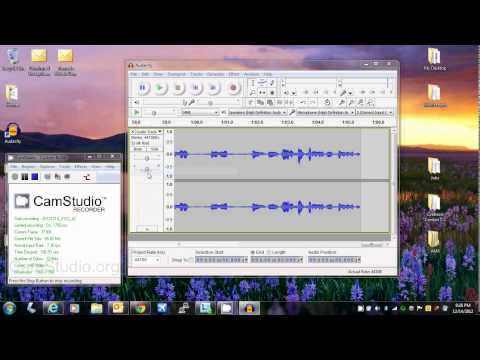 How to use Audacity to record CD