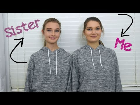 TRANSFORMING MY SISTER INTO ME CHALLENGE!
