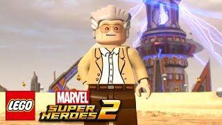 Lego Marvel Super Heroes 2 - Stan Lee Free Roam Gameplay