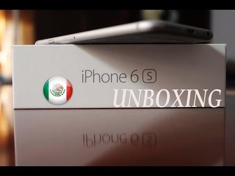 Unboxing iPhone 6s TELCEL 4G LTE. Español