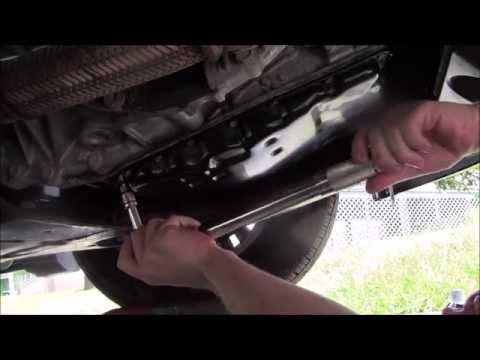 2011 Nissan Altima 2.5 SL CVT Drain and Refill